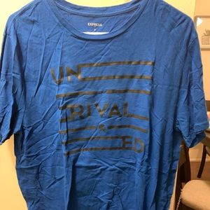 Blue Express Men's Graphic Tee Large L